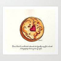 Biscuit Art Print