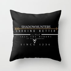 THE MORTAL INSTRUMENTS // QUOTE // SHADOWHUNTERS Throw Pillow