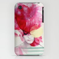 iPhone 3Gs & iPhone 3G Cases featuring Bright Pink - Part 2  by Jenny Liz Rome