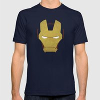 Ironman Mens Fitted Tee Navy SMALL