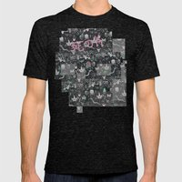 Bones in the Desert Mens Fitted Tee Tri-Black SMALL