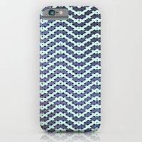 iPhone & iPod Case featuring Chevron With A Twist by Chris Klemens