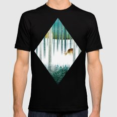 last morning (complete?) Mens Fitted Tee Black SMALL
