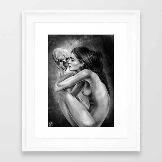 """Love You Till The End"" Framed Art Print"