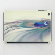 Peacock Drop iPad Case