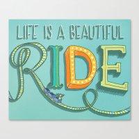 Beautiful Ride Canvas Print