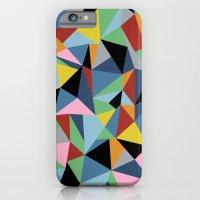 Ab Repeat Black iPhone 6 Slim Case