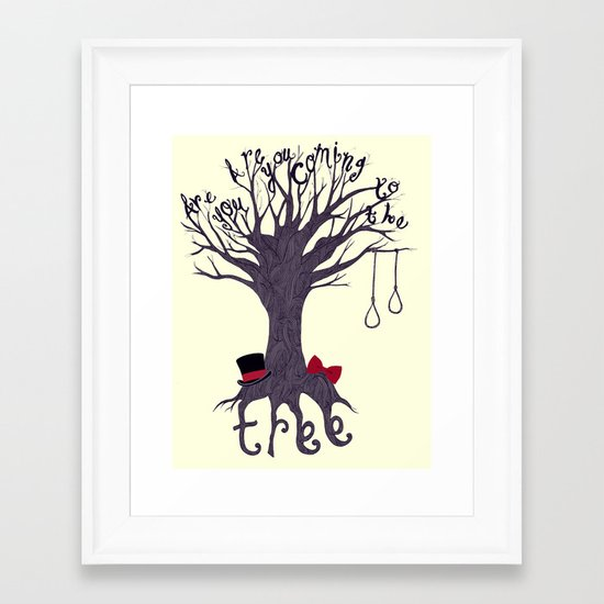 The Hanging Tree Framed Art Print