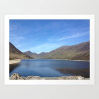 Silent Valley Art Print