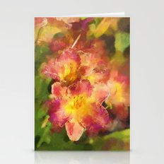 Summer Splash of Lilies Stationery Cards