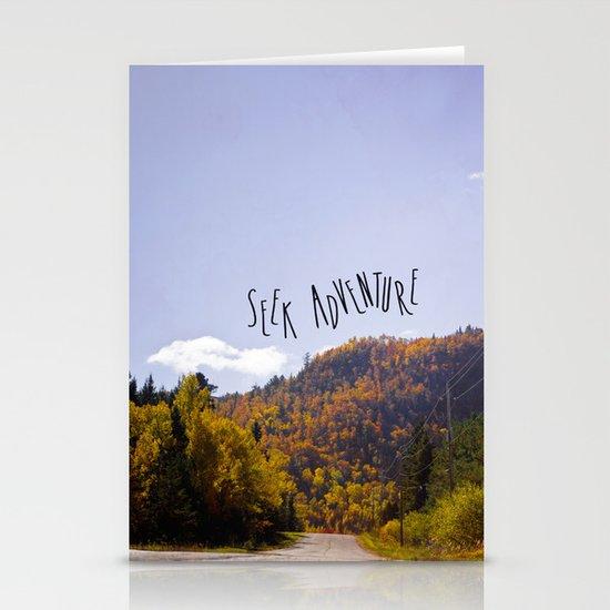seek adventure Stationery Card