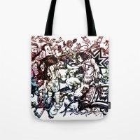 Domestic Parade Tote Bag