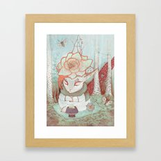 Forest Fairytales Framed Art Print
