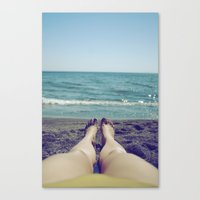 Float Away Canvas Print