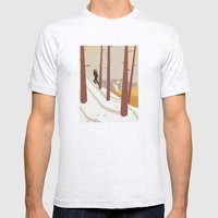 I would be... an explorer  Mens Fitted Tee Ash Grey SMALL