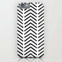 iPhone & iPod Case featuring Graphic_Black&White #4 by Anna Rosa