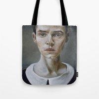 Portrait (shiver) Tote Bag