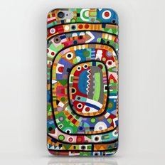 Planet of all good people iPhone & iPod Skin