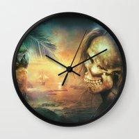 Antonio Bay Wall Clock