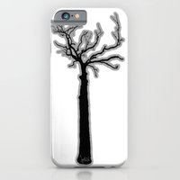 iPhone & iPod Case featuring Black & White Tree's by Vincentograph