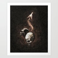 I Have Killed You So That You May Have Overflowing Life Art Print