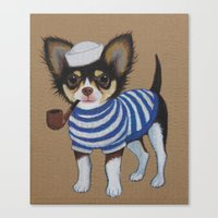Chihuahua - Sailor Chihuahua Canvas Print