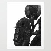 Pods III Art Print