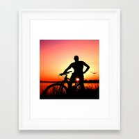 Sunset Magic Framed Art Print