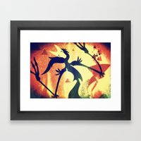The Notion Framed Art Print