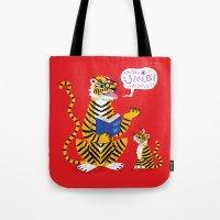 Tiger Tales Tote Bag