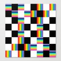 Chessboard 2013 Canvas Print