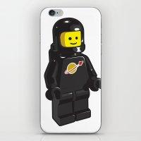 Vintage Lego Black Space… iPhone & iPod Skin