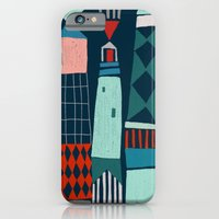 iPhone Cases featuring lighthouses by frameless