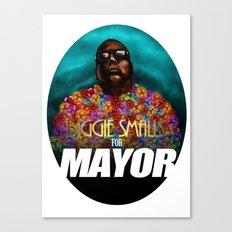 Biggie Smalls for Mayor Canvas Print