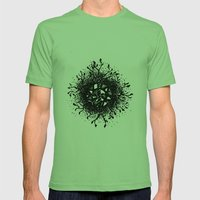 Tree-mandala Mens Fitted Tee Grass SMALL