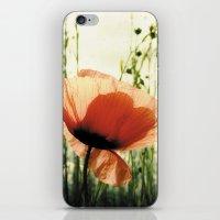 Eclosion De Coquelicot iPhone & iPod Skin