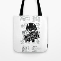 Synth Tote Bag