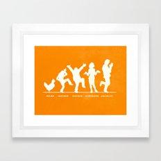 Bluth Chickens Framed Art Print
