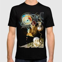 Celestial Honey Translat… Mens Fitted Tee Black SMALL