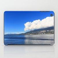Blue vs. White iPad Case