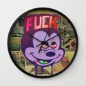 Mick F!ck Wall Clock