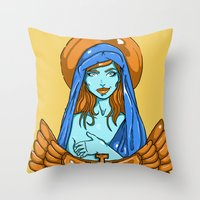 Mother Throw Pillow
