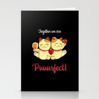 Puuurfect Stationery Cards