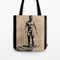 As I Moved Deeper Into the Forest Tote Bag