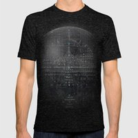Numbers Diagram Mens Fitted Tee Tri-Black SMALL