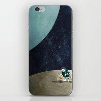 The Space Gardener iPhone & iPod Skin