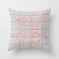PushButton V.1 Throw Pillow