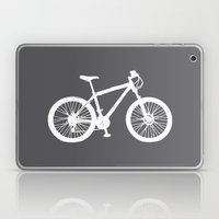 Mountain Bike Charcoal Laptop & iPad Skin