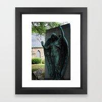 Grave Snatcher Framed Art Print