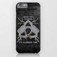 iPhone & iPod Case featuring Thor - Hammer Time by sophiedoodle